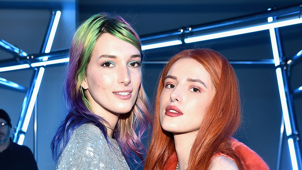 Dani Thorne and Bella Thorne at an event