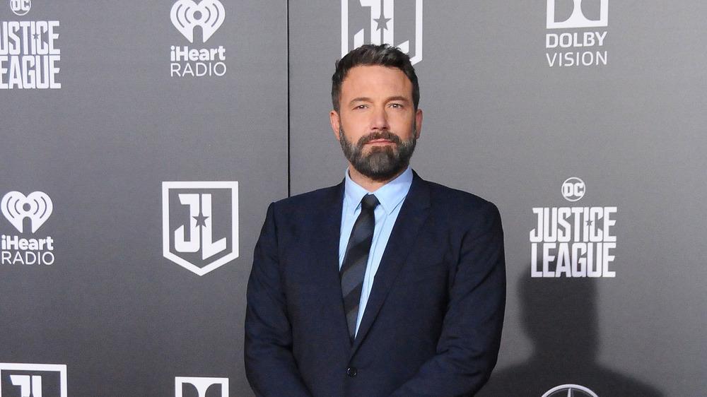 Ben Affleck beard and suit