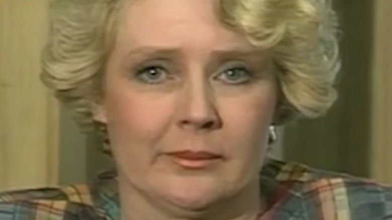 Betty Broderick looking into the camera