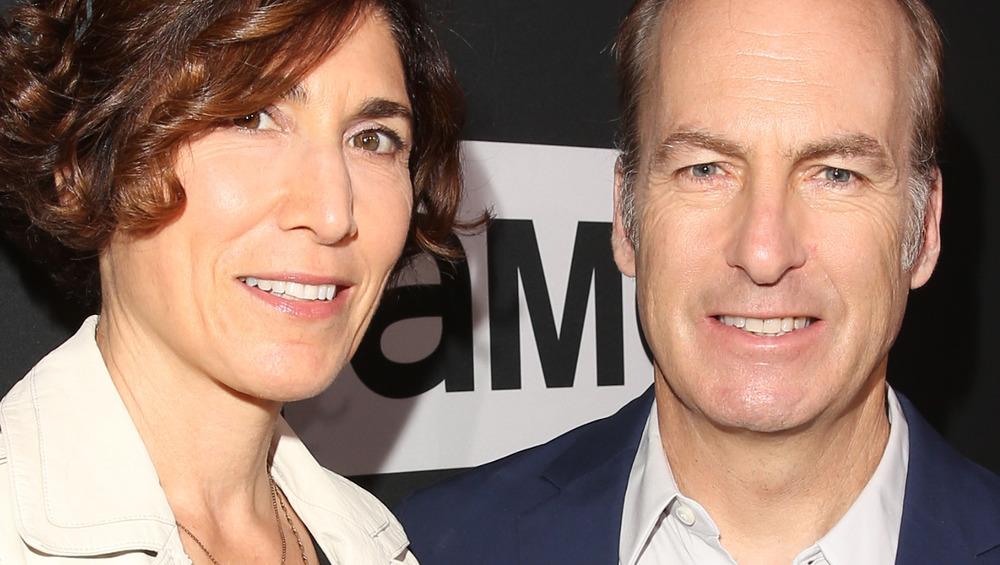 Bob and Naomi Odenkirk posing