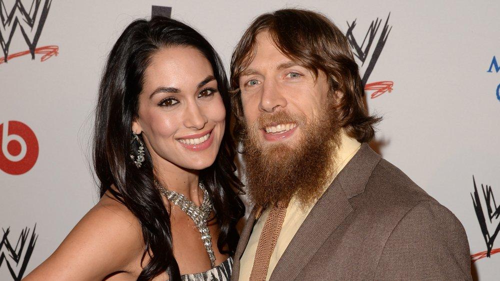 Brie Bella and Daniel Bryan