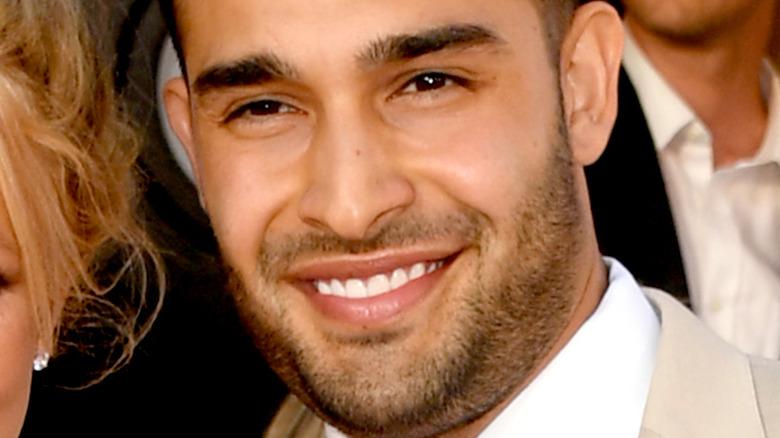 Sam Asghari facial hair