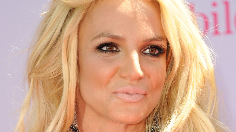 Britney Spears on the red carpet in 2016