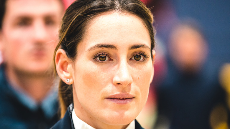 Jessica Springsteen at the Longines Speed Challenge in Paris France 2019