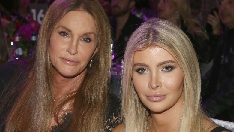 Sophia Hutchins and Caitlyn Jenner