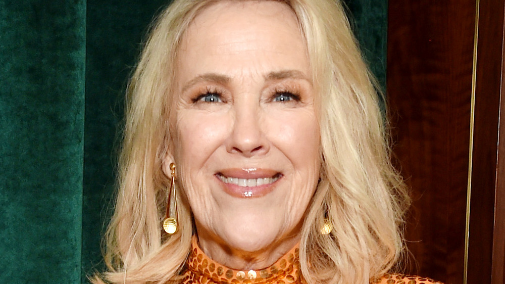 Catherine O'Hara smiles at an event