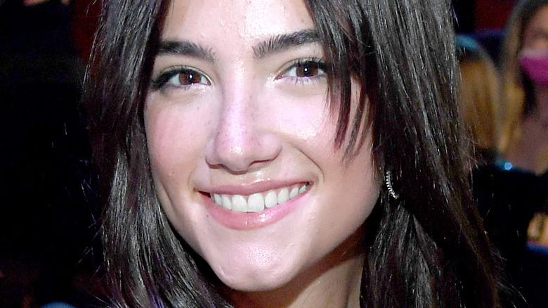 Charli D'Amelio smiling