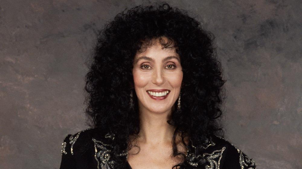 portrait of Cher
