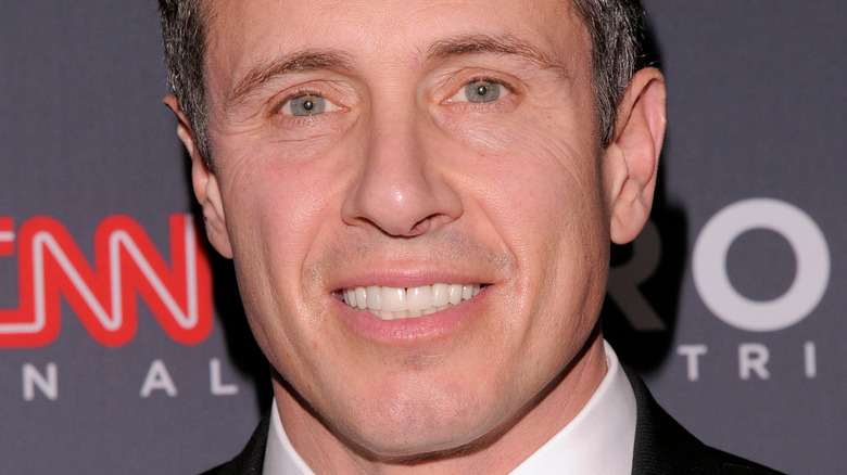 Chris Cuomo smiling with teeth