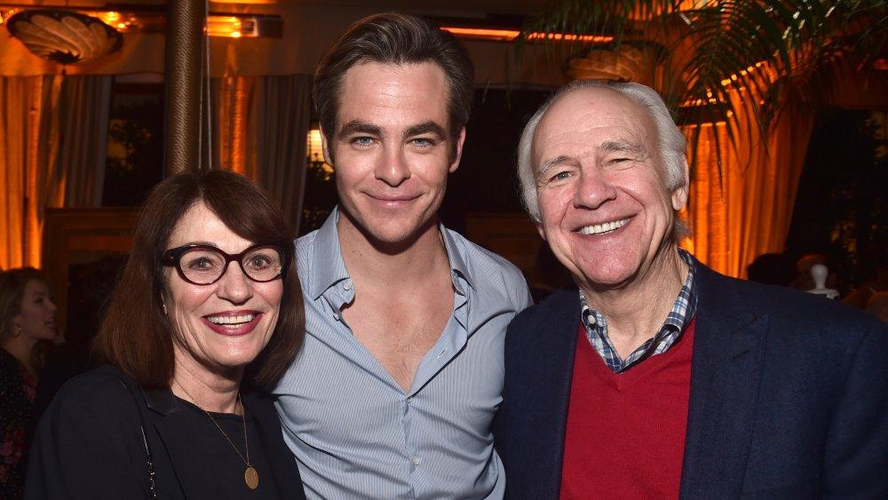 Chris Pine's parents
