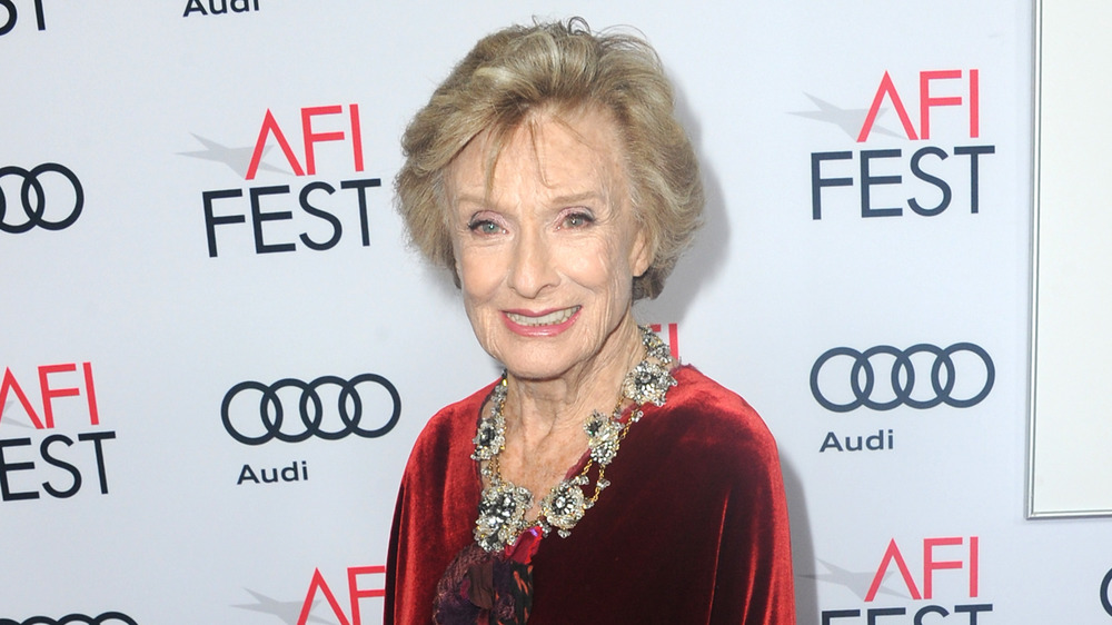 Cloris Leachman on the red carpet of the AFI Fest