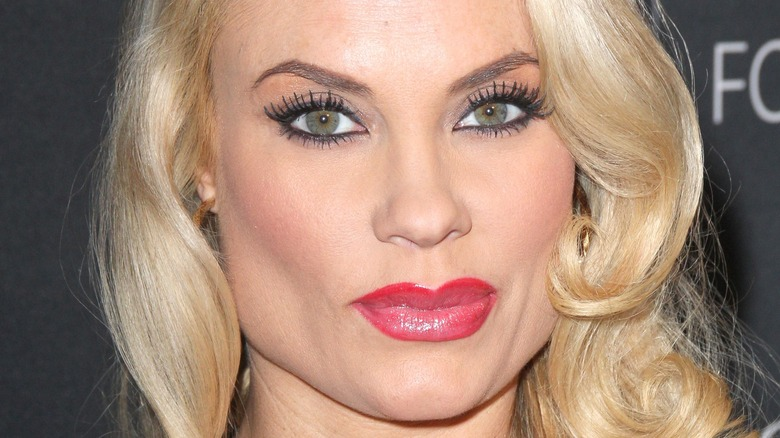 Coco Austin on the red carpet