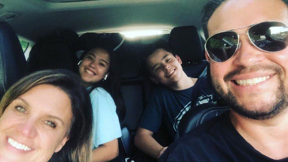 Jon Gosselin, Colleen Conrad, Collin and Hannah Gosselin