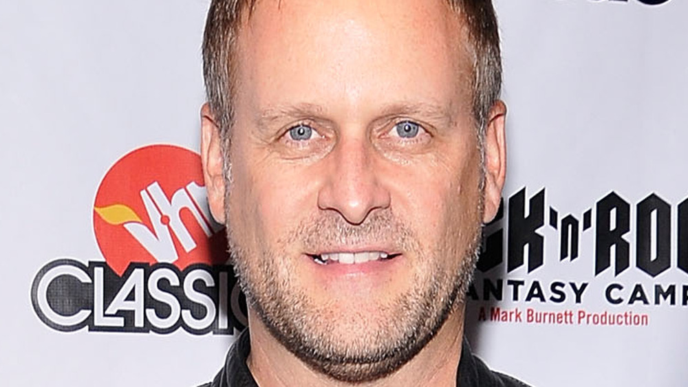 Dave Coulier on red carpet