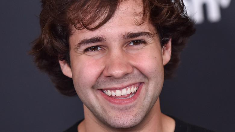 David Dobrik smile