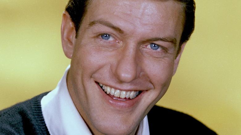 Young Dick Van Dyke smiling