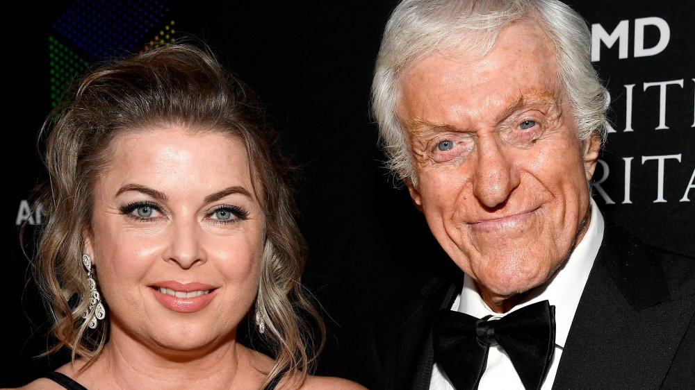 Dick Van Dyke (R) and Arlene Silver attend the 2017 AMD British Academy Britannia Awards Presented by American Airlines And Jaguar Land Rover