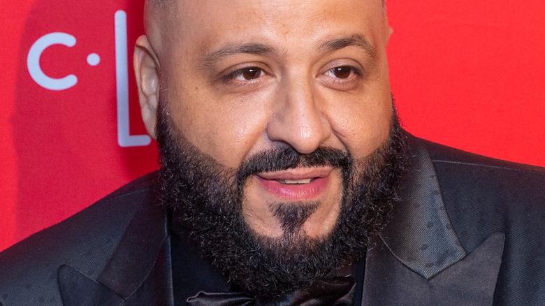 DJ Khaled posing