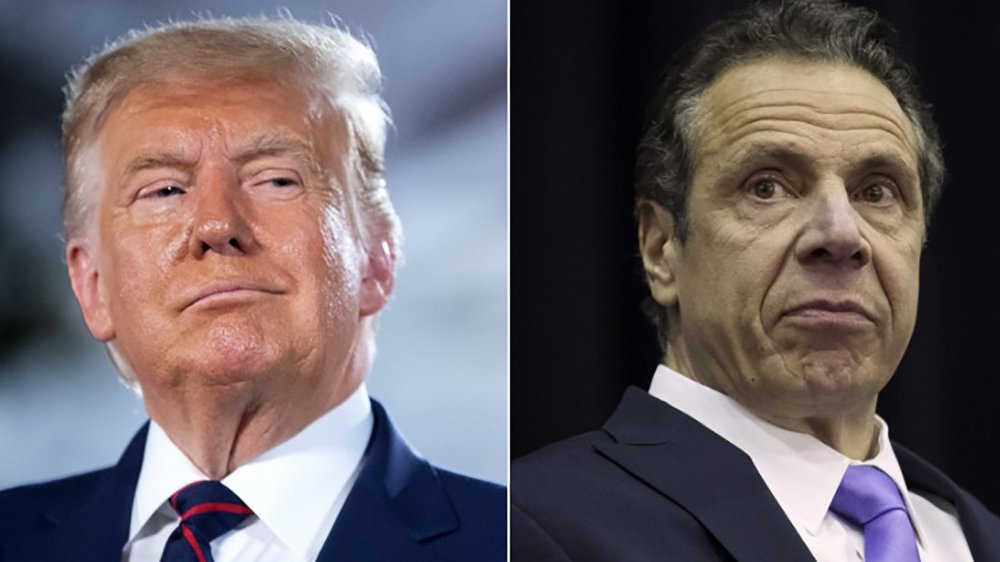 Donal Trump and Andrew Cuomo