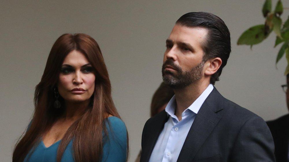 Donald Trump, Jr. and Kimberly Guilfoyle