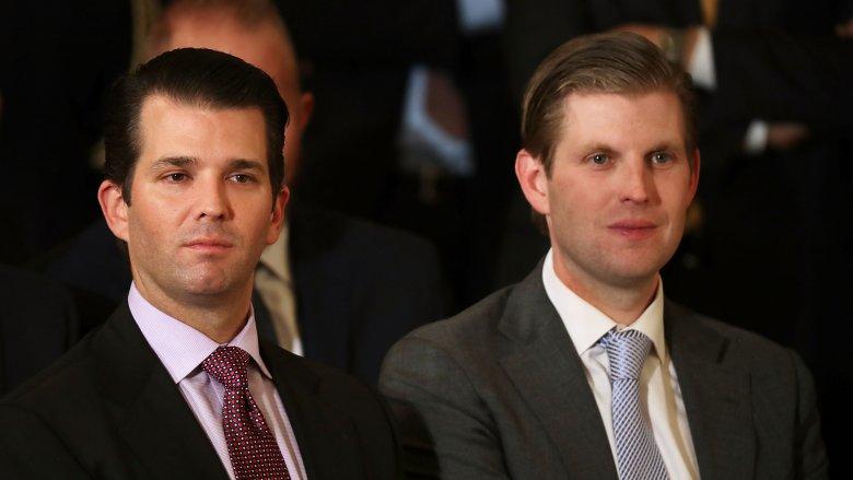 Donald Jr. and Eric Trump