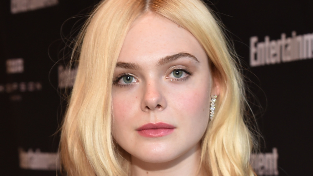 Elle Fanning at an event