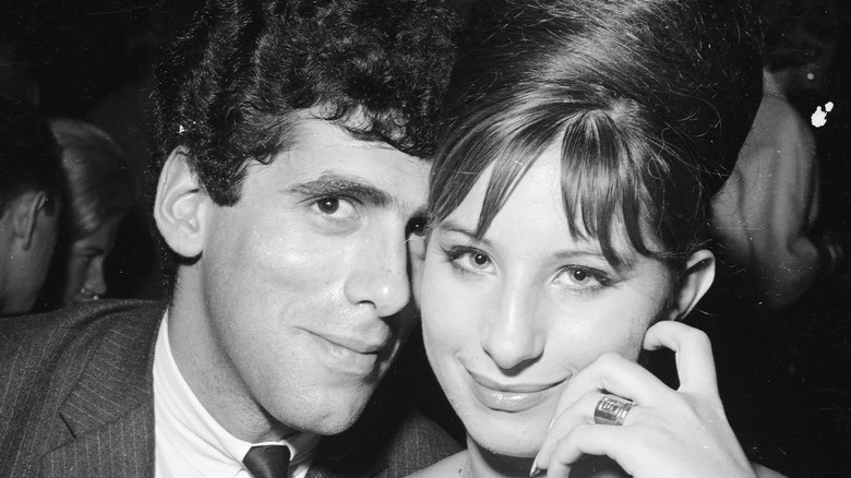 Elliot Gould and Barbra Streisand in the 1960s