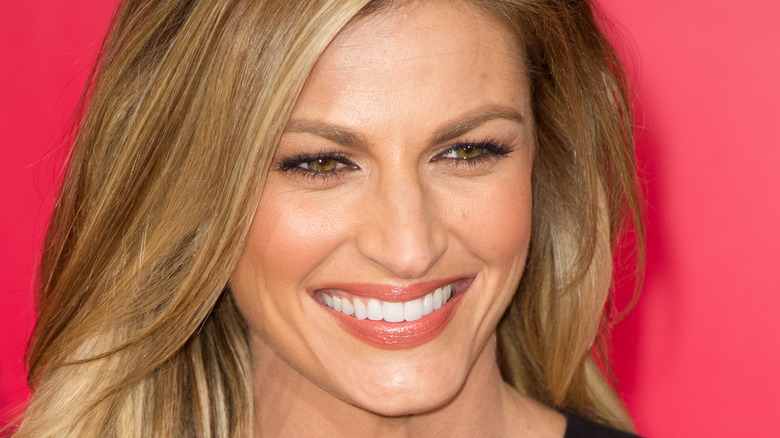 Erin Andrews smiling red carpet