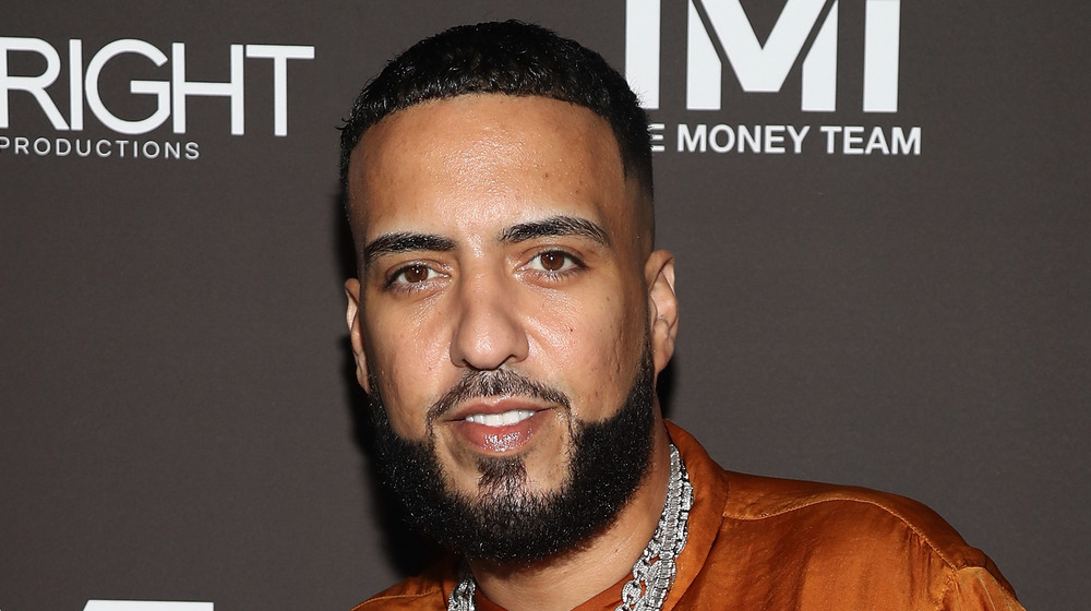 French Montana on a red carpet