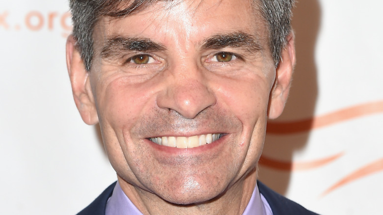 George Stephanopoulos on the red carpet