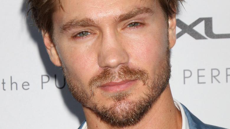 Chad Michael Murray smiles on red carpet