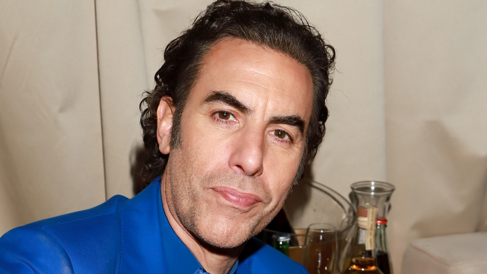 Sacha Baron Cohen at party