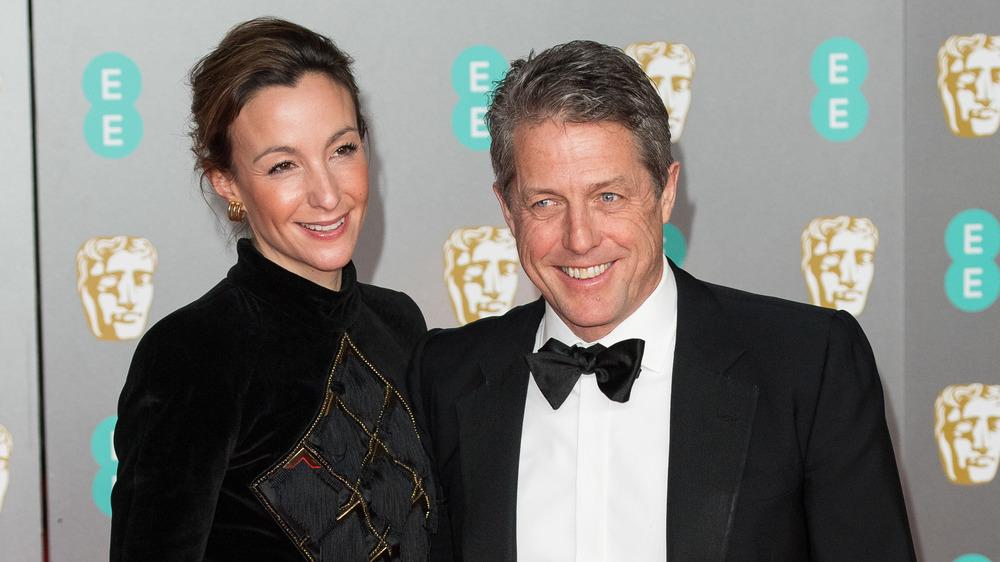 Anna Eberstein and Hugh Grant
