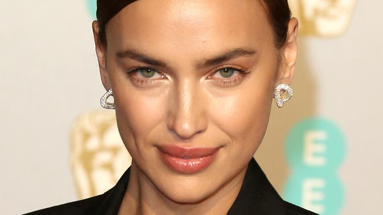 irina shayk diamond earrings