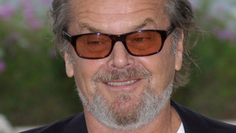 Jack Nicholson grinning