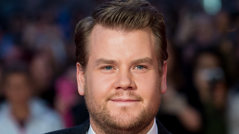 James Corden smiling at an event