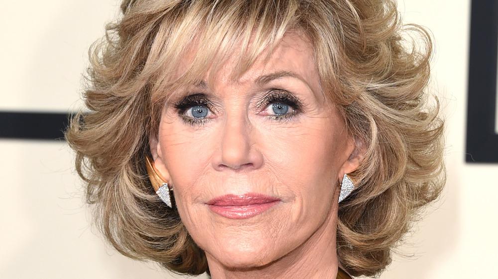 Jane Fonda at an event