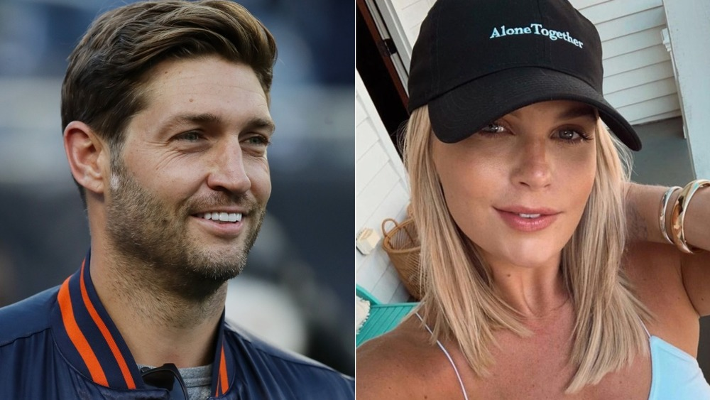 Jay Cutler smiling and Madison LeCroy selfie