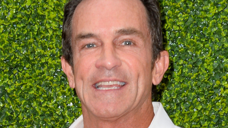 Jeff Probst at a CBS event