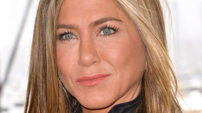 Jennifer Aniston Murder Mystery shoot