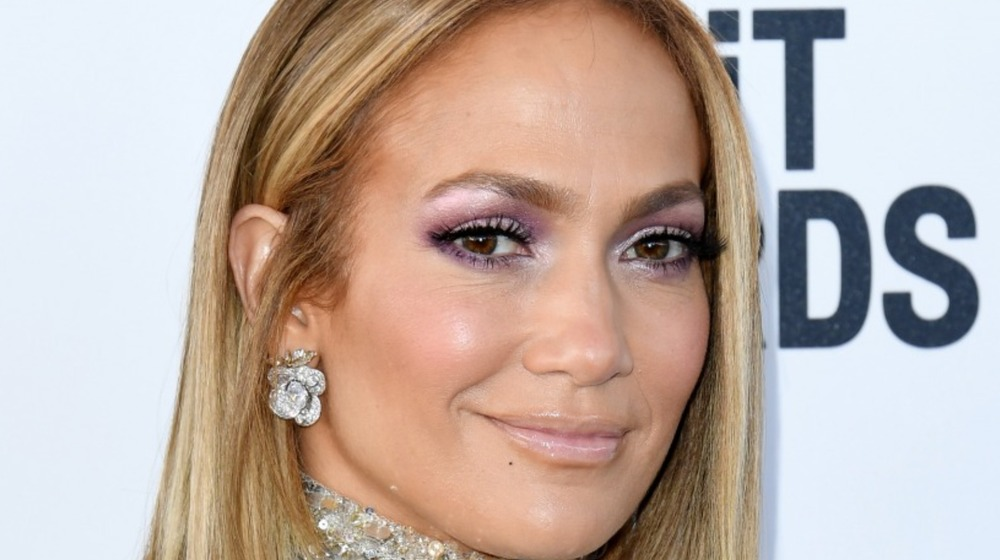 Jennifer Lopez attends the 2020 Film Independent Spirit Awards on February 08, 2020