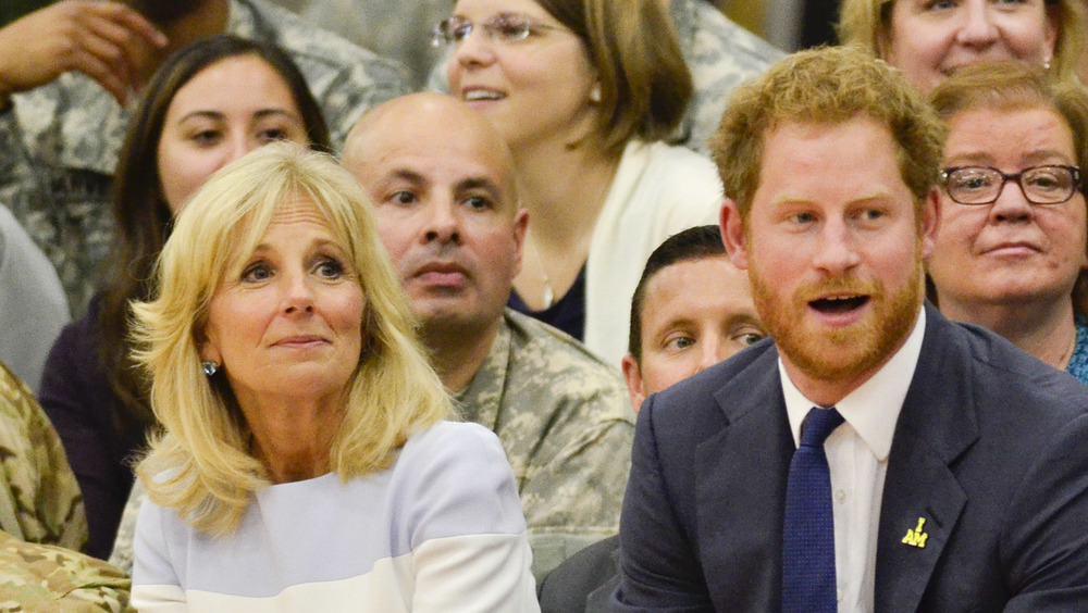 Jill Biden, Prince Harry