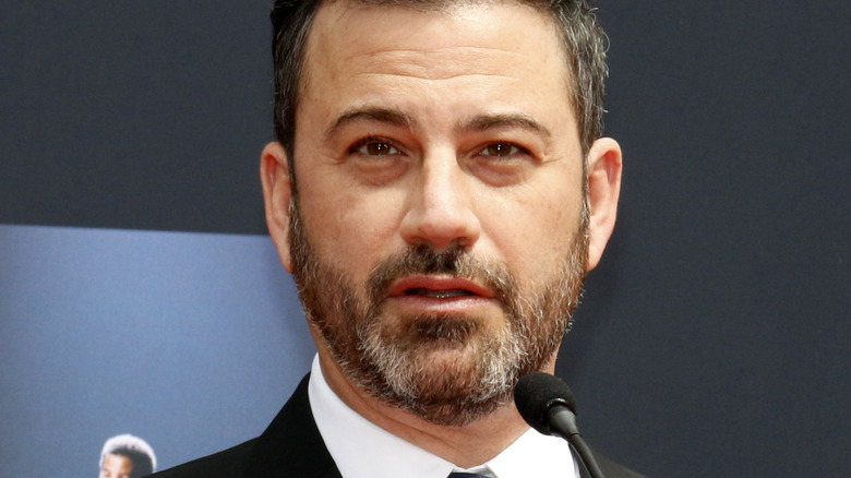 Jimmy Kimmel speaking at an event