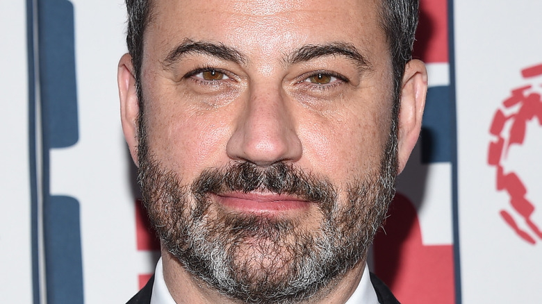 Jimmy Kimmel posing