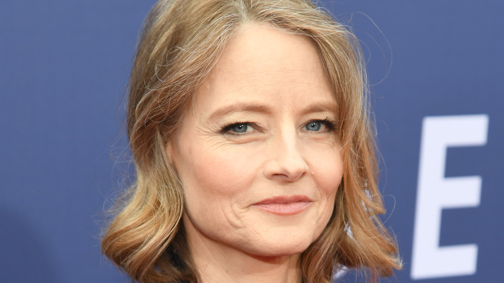 Jodie Foster smiles at a 2019 event