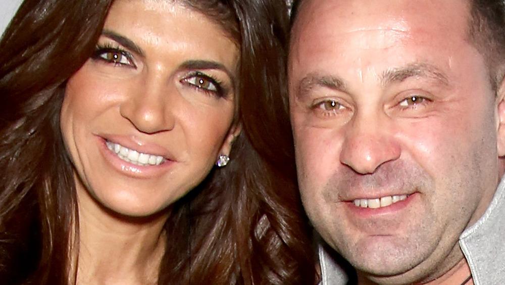 Teresa and Joe Giudice smiling