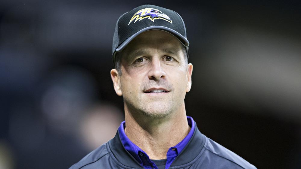 John Harbaugh Baltimore Ravens coach