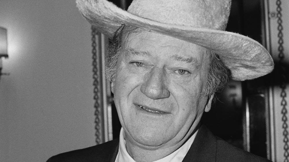 John Wayne in London 1974