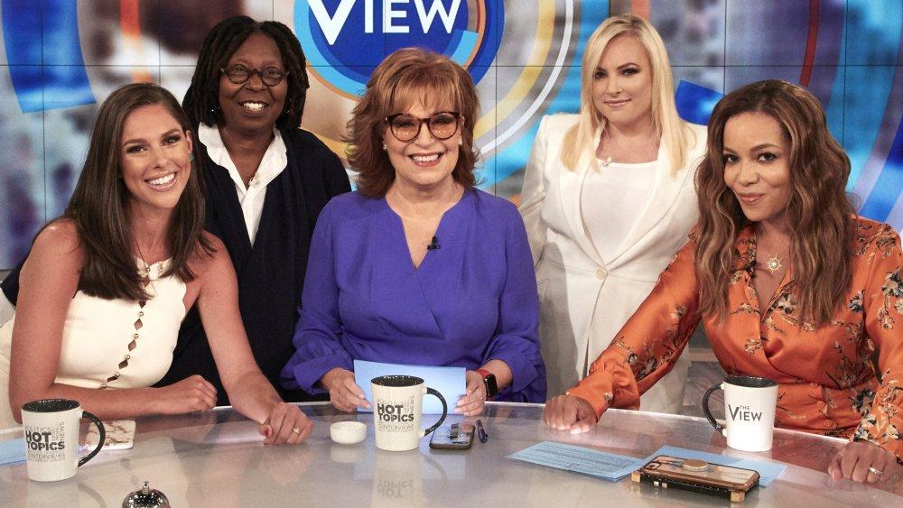 Abby Huntsman, Whoopi Goldberg, Joy Behar, Meghan McCain, Sunny Hostin