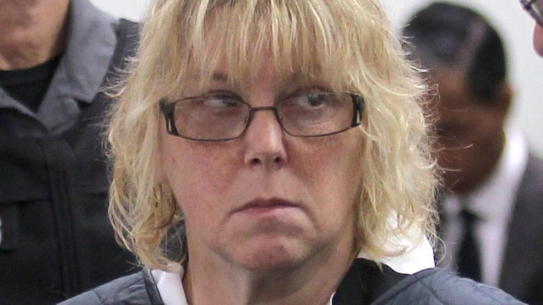 Joyce Mitchell in court in 2015.